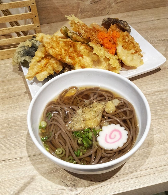 Note to self: next time get the tempura sauce with extra togarashi.