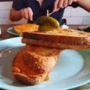 Grilled Ham And Cheese Sourdough