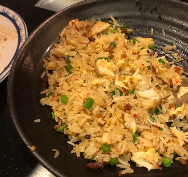 XO crabmeat fried rice ($20++)