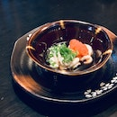 Cod Milt with Ponzu, Fish Roe & Scallions ($35)