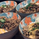 Assorted Angus Beef Donburi ($22.90) - Truffle, Garlic Butter, Miso Mayo