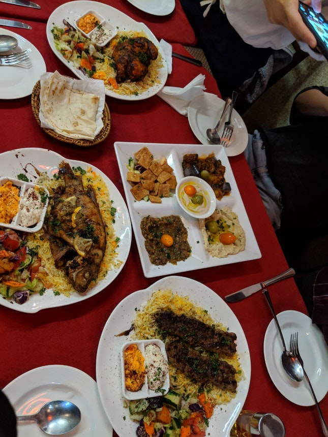 Tasty Lebanese Food & Good Experience!