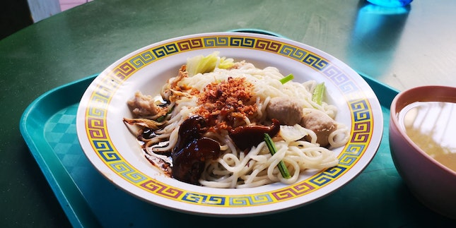 Top 1 Hand Made Noodles ($4)