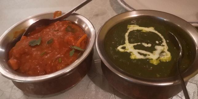 Chicken Tikka Masala, Palak Paneer
