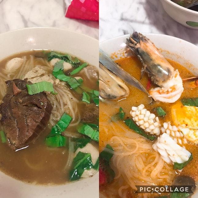Thai Food At Chinese Street