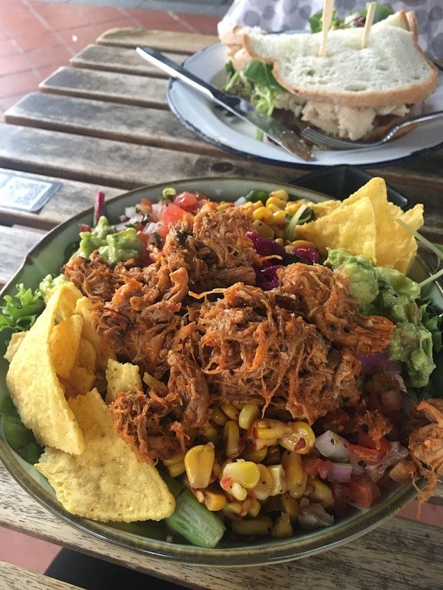 Salad In CBD