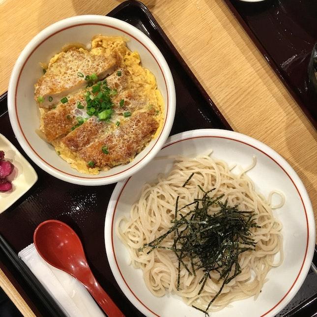 Katsu Soba Set ($20)