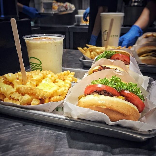 """""""SHAKE SHACK""""  It's about time!"""