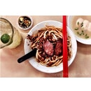 Pork ball noodles @ Sun Huat Kee restaurant, Lucky Garden Bangsar