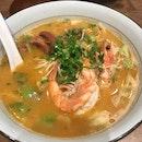 Shrimp And Pork Ribs Ramen