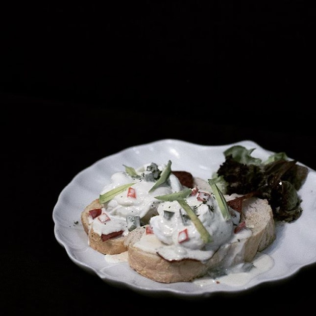 Interesting Mexican take on poached eggs.