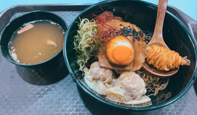 Singapore-Styled Ramen ($9 For Small)