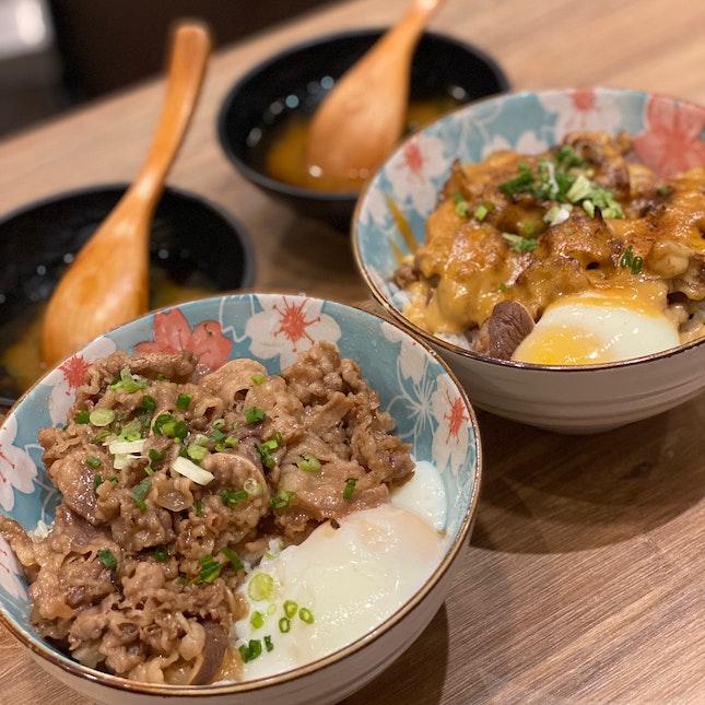 Truffle and miso mayo beef bowl