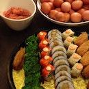 @3v0nne 's 20th birthday celebration 😋 @baozcheng @yangg_y @csakai7 @yencxd @kenny_wee @cindyleoww #foodporn #nofilter