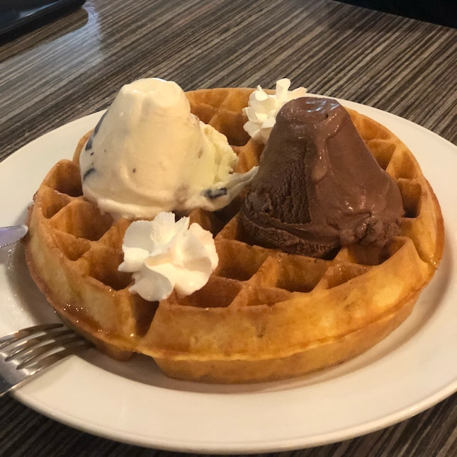Half Price Waffles Every Tuesday!