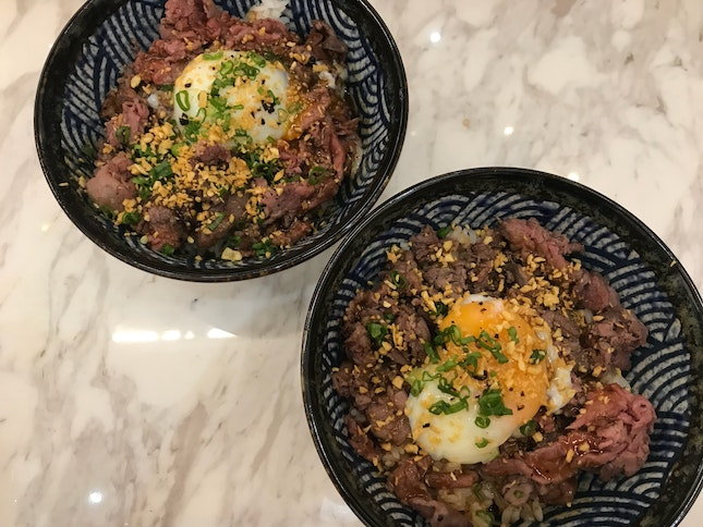 Truffle Beef Bowl