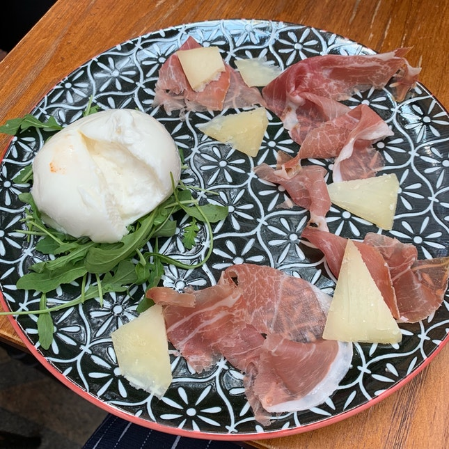 Burrata And Parma Ham