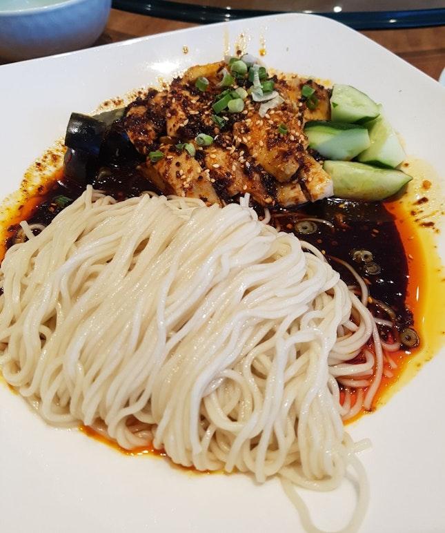 口水鸡noodles ($15)