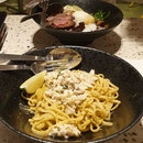 Laksa Pesto Pasta And Beef Bowl ($17/18)