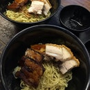 Pork Belly Twosome Noodle ($10)