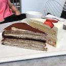 Tiramisu Millie Crepe Cake ($10)