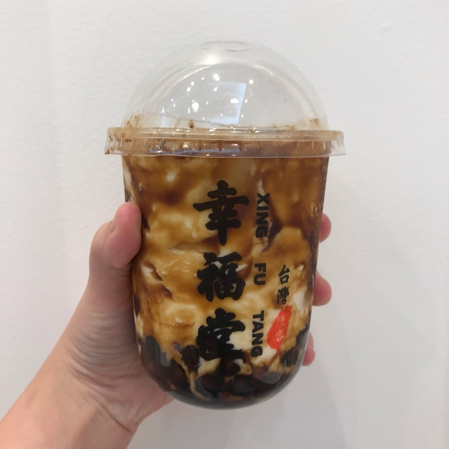 Brown Sugar Boba Milk ($5.30)