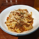 Ragu Bolognese With Lemon Mafalde Pasta