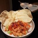 Salmon Poke Tacos