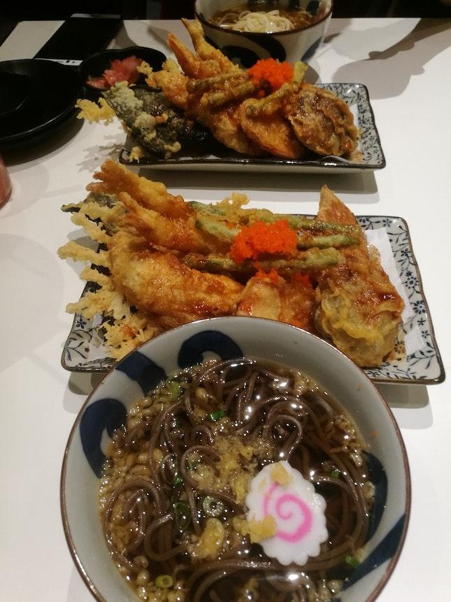 Mixed Tendon Soba/Udon