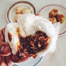 Cha Shao Bao, 叉烧包  The savory sweet filling was beyond delicious.