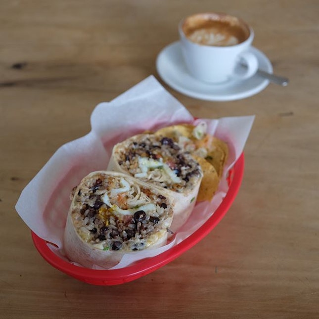 El Burrito ($14.50) .