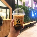 Definitely the best of both world; Iced Latte Brown Sugar Boba (RM13.90), a coffee x boba shop newly opened next to Lot10 (literally underneath the escalator).