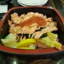 Delicious Salmon Mentai Don