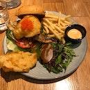 Fish Chicken Burger