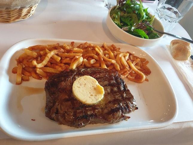 Substandard Steak At Les Bouchons