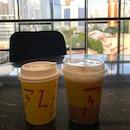 Melaka & Iced Caramel Latte