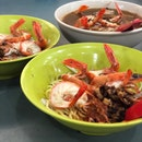 Prawn Mee With Pork Ribs