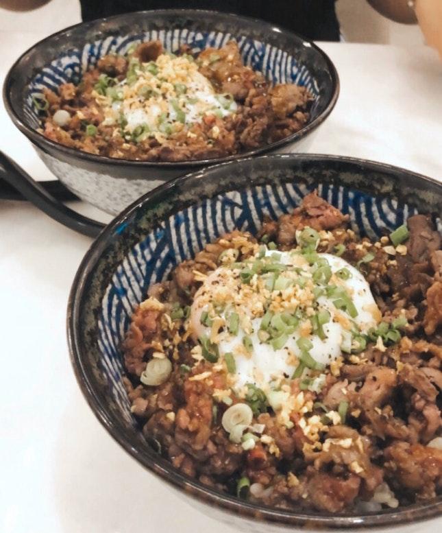 Truffle Wagyu Bowl With Onsen Egg