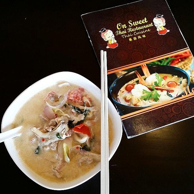 Heart Warming Tom Ka Noodle Soup