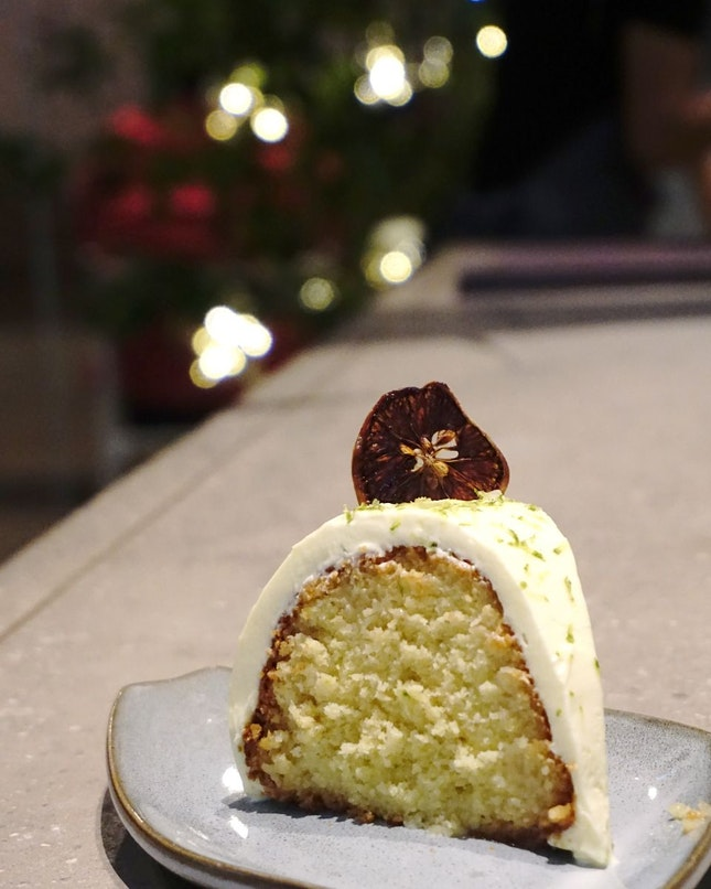 Limau Nipis Bundt Cake