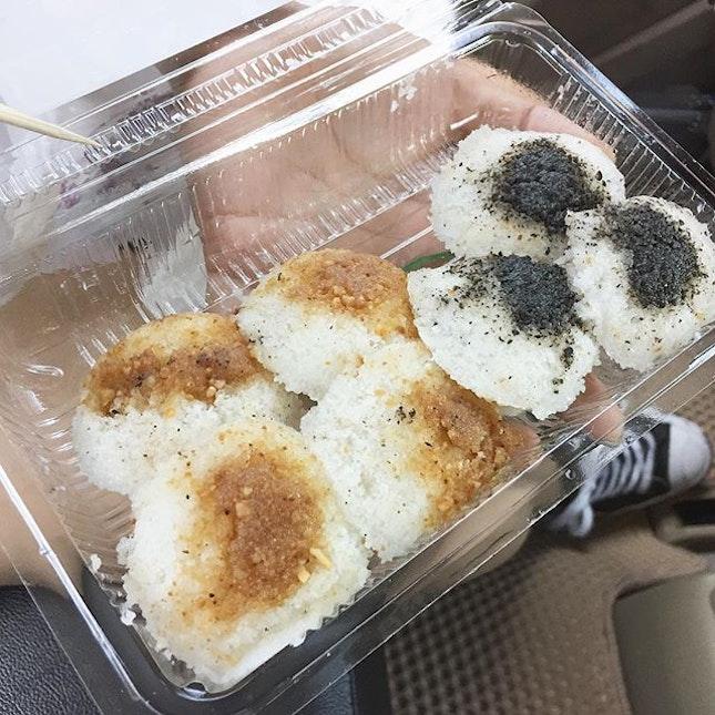 Champion Scholar Cake - Steamed glutinous rice made similar to kueh tutu.