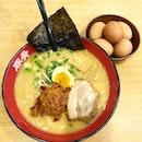 Kara Miso Ramen ($12.80) - What I craze most in a cold day.
