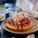 Earl Grey Caramel Waffle 🍯