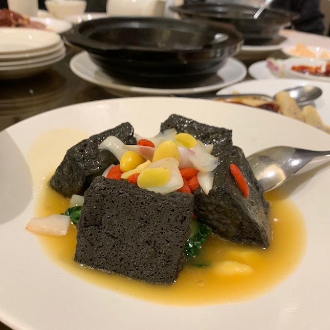 charcoal beancurd 🌘