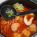 Rich Tomato Noodle Soup