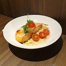 Salmon Miso Pasta ($27.80)