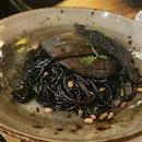 """Spaghetti Al """"Hittam"""" The All Black ($16.50)"""