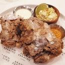 BB Crispy Fried Chicken ($18)