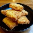 Mac & Cheese Croquettes ($12)