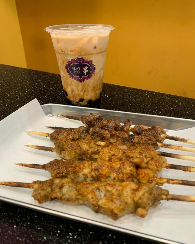 Lamb And Chicken Skewers